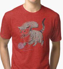 Kittehmorph Tri-blend T-Shirt