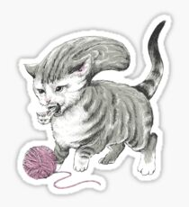 Kittehmorph Sticker