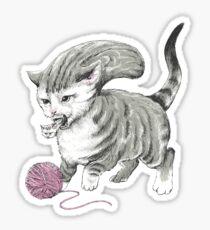 Kittehmorph Sticker
