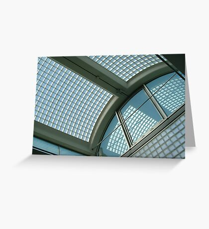 Glass Roof Greeting Card