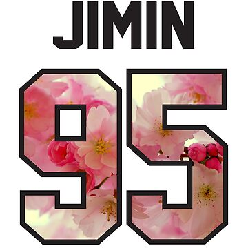 BTS Jersey - Jimin by eveningshadow