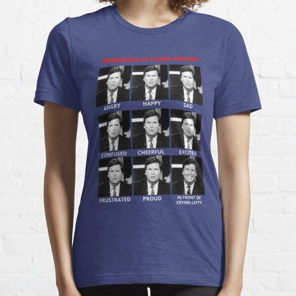 The Expressions of Tucker Carlson Essential T-Shirt