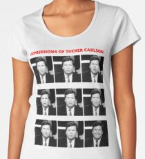 The Expressions of Tucker Carlson Women's Premium T-Shirt