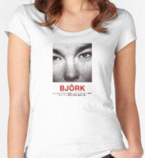 Björk Tailliertes Rundhals-Shirt