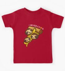 we love Pizza a s-LOT-h!  Kids Tee