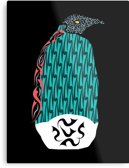 Abstract Penguin by DANIEL BEVIS