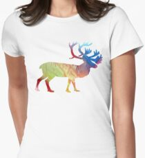 Caribou Womens Fitted T-Shirt