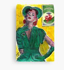 1940's Perfume Ad Canvas Print