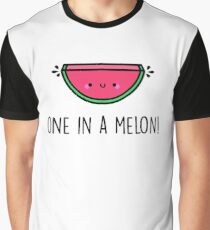 You're ONE in a MELON!  Graphic T-Shirt