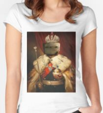 LORD AND SAVIOR, TACHANKA Women's Fitted Scoop T-Shirt