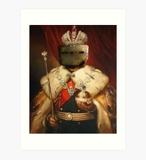 LORD AND SAVIOR, TACHANKA Art Print