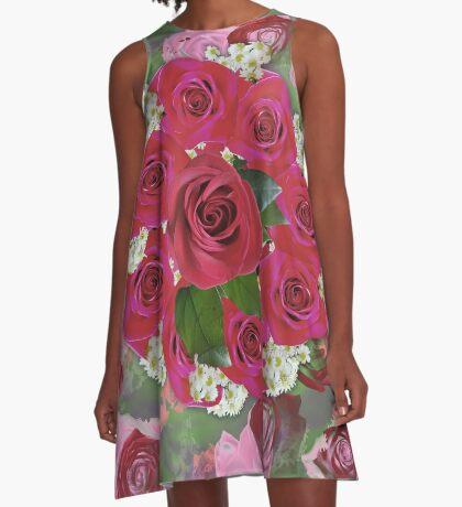 Anniversary 8 Fade A-Line Dress
