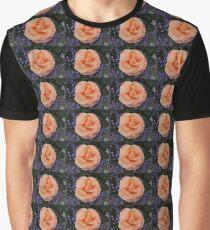 Peach & Lilac Graphic T-Shirt