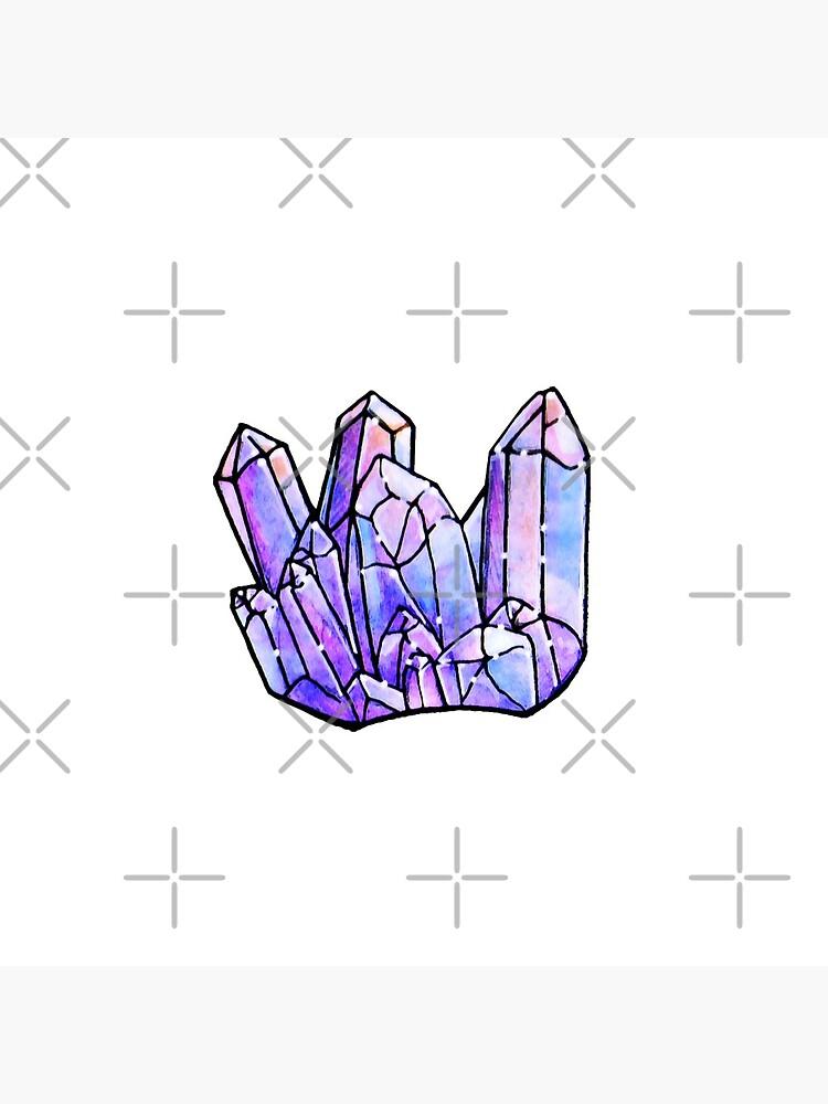 Watercolor Crystals by MaeganCook