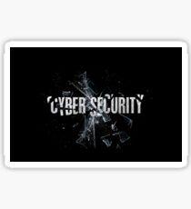 la cyber-sécurité Sticker