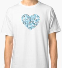 The Bike Heart -Cyan Bicycles Classic T-Shirt