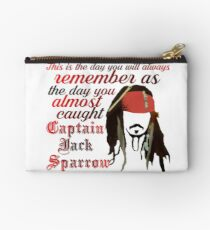 Captain Jack Sparrow Täschchen