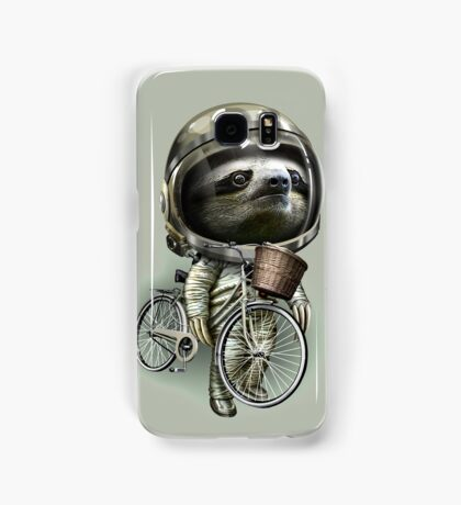 WITH MY BIKE ALONG Samsung Galaxy Case/Skin