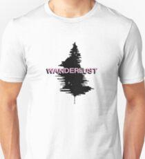 Pink Tree Wanderlust Design Unisex T-Shirt