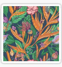 Vector Tropical Floral Pattern Sticker