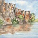 Potholes - Seeps Lake Area, WA by Diane Hall