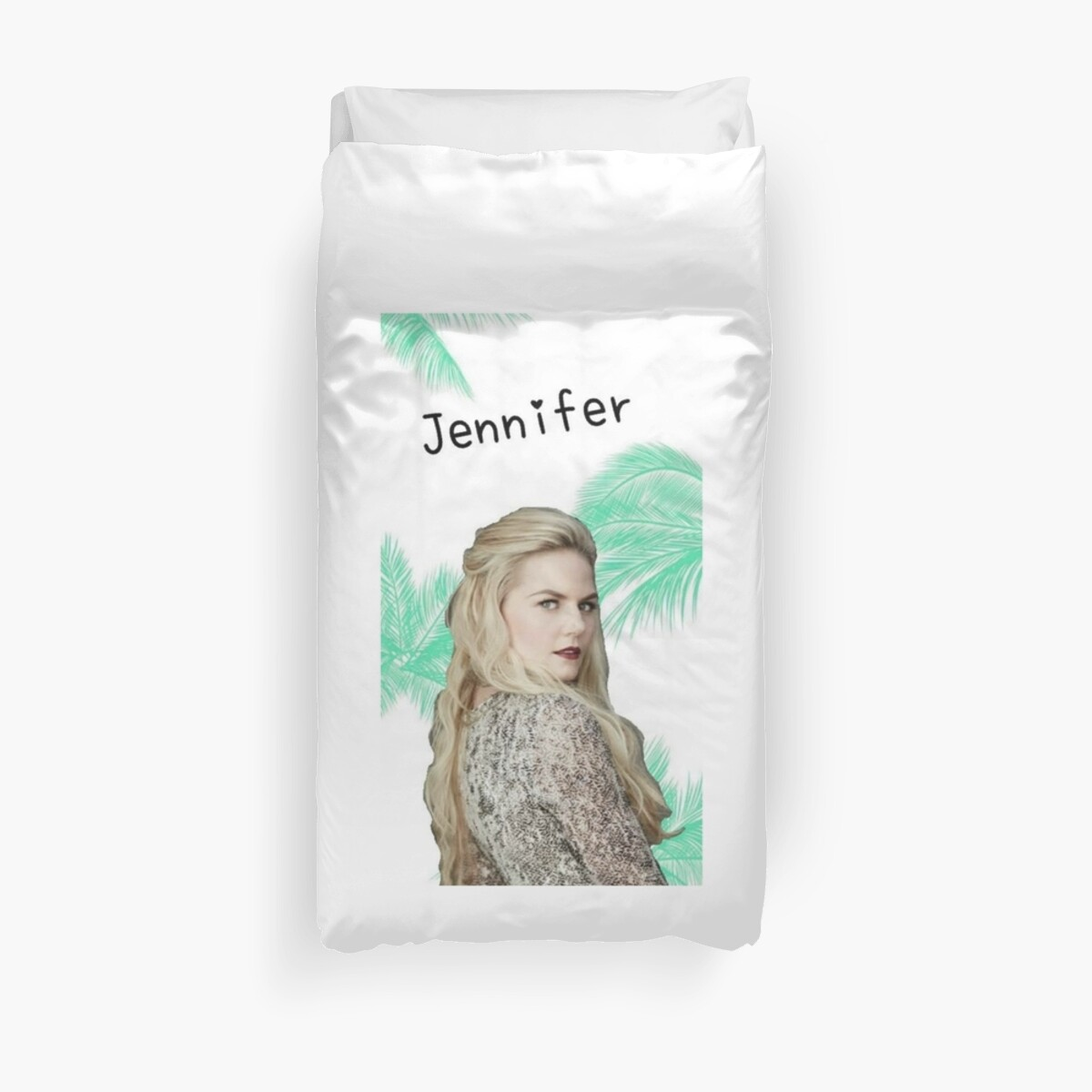 jennifer morrison duvet covers by storybrooke forest. Black Bedroom Furniture Sets. Home Design Ideas