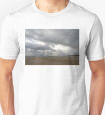 Winter Beach Storm Gift Unisex T-Shirt