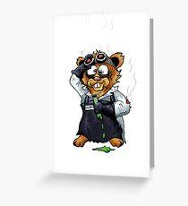 Gilbert the Irradiated Hamster Greeting Card