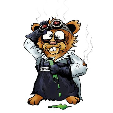 Gilbert the Irradiated Hamster by StabbedPanda