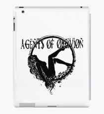 Agents of Oblivion - Flower Lady v1 iPad Case/Skin