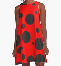 Ladybug A-Line Dress