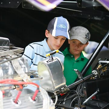 Young Petrol Heads by taterbug
