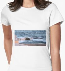Nova Scotia Ocean Womens Fitted T-Shirt