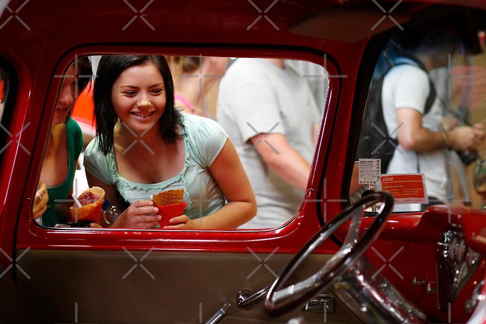 Girls love cars too by David Tate