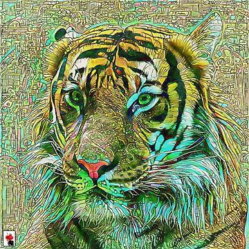 The Incas Tiger by colorARTillery