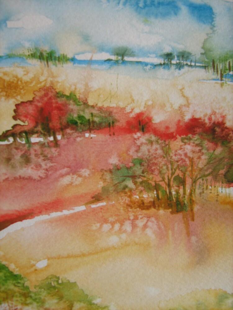 landscape by ginatin2000