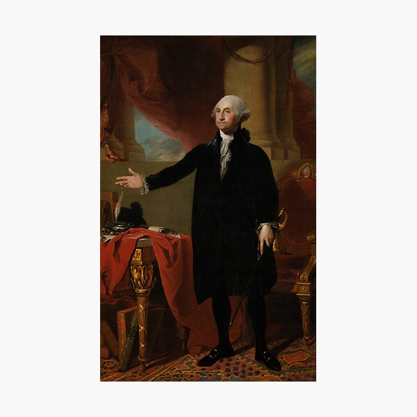 George Washington Lansdowne Portrait Photographic Print