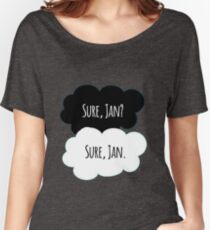 Sure Jan (TFIOS) Women's Relaxed Fit T-Shirt