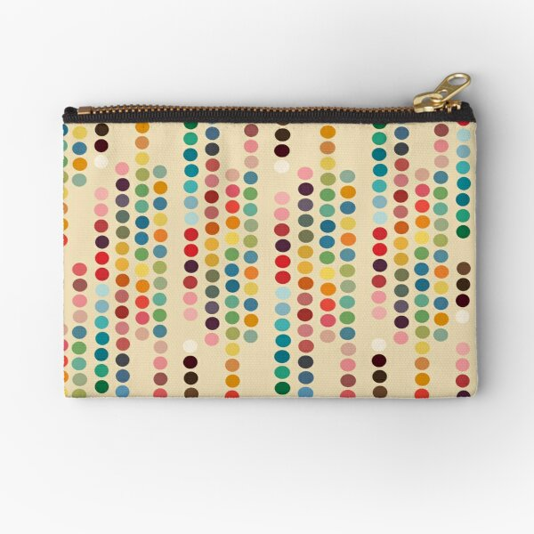 Retro dots Zipper Pouch