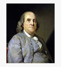 Benjamin Franklin Photographic Print
