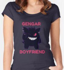gengar boyfriend Women's Fitted Scoop T-Shirt