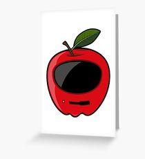 Apple Mac Greeting Card