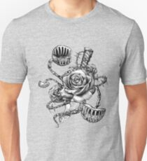Vicious Rose Fly Trap Dagger Tattoo Unisex T-Shirt