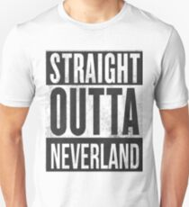 Straight Outta Neverland Unisex T-Shirt