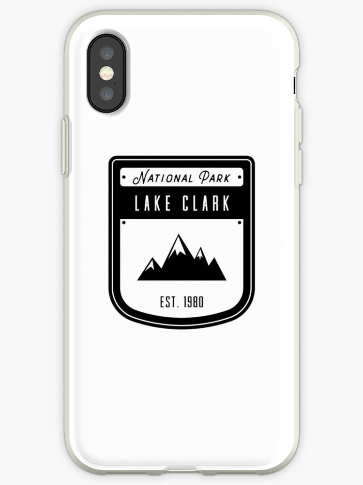 Lake Clark Alaska National Park Badge Design by nationalparks