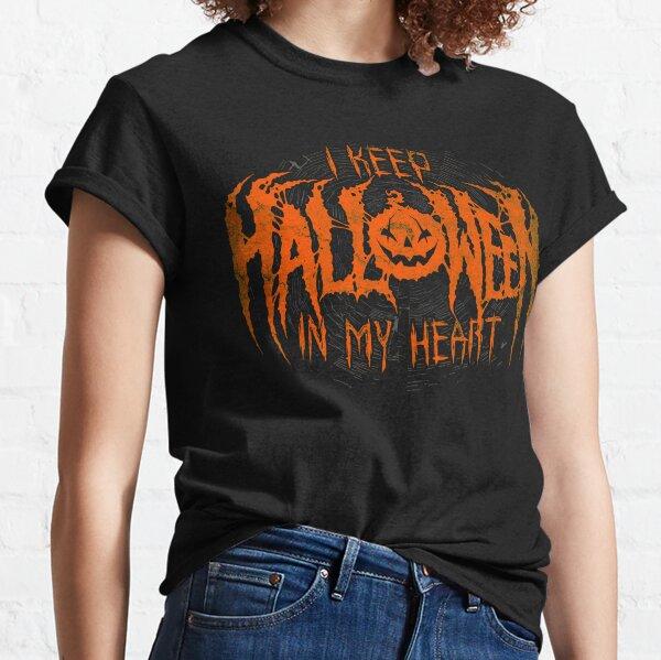 I Keep Halloween In My Heart Classic T-Shirt