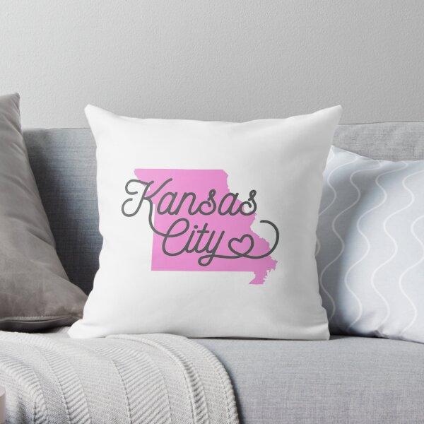 Kansas City MO Tshirt  Throw Pillow