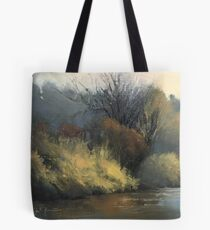 February on the Sugar River Tote Bag