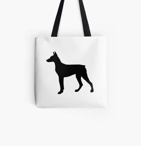 Doberman Pinscher b Cotton Shopping Tote Bag Gusset /& Long Handles Perfect Gift