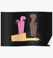 Milksnake 2 (Dark Chocolate) Poster